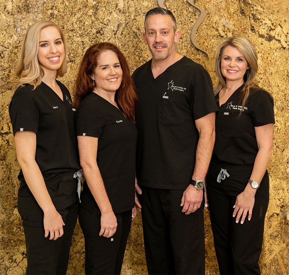 Dr. Bryan Armijo and medical team